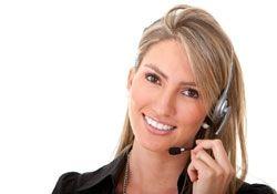 Klantenservice voor telefonisch contact